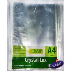Папка джоб CRYSTAL LUX A4