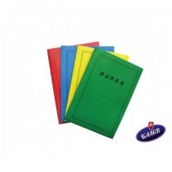 Папка с машинка картон зелена 1бр.
