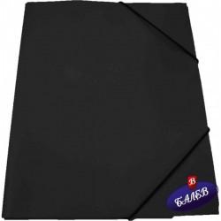 SW Папка PP с ластик черна