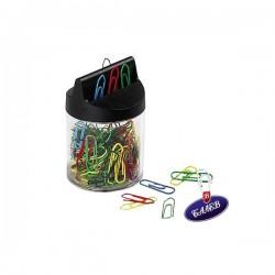 WEDO Магнитна кутия+125 цв. кламера