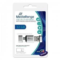 MEDIARANGE FLASH 32GB USB 2в1