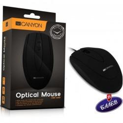 CANYON Оптична мишка USB черна