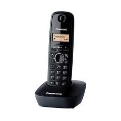 Безжичен DECT телефон Panasonic KX-TG1611 - бял