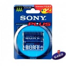 SONY Батерия алкална R03 3464 оп.4+2