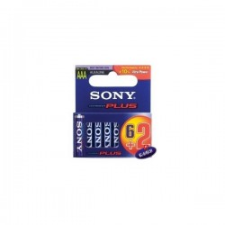 SONY Батерия алкална R03 3563 оп.6+2