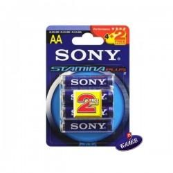 SONY Батерия алкална R6 3440 оп.4+2