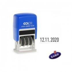 COLOP Датник S120/3 цифри черен