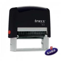 TRAXX Печат PR40 22/58мм черен 9013