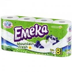 Тоалетна хартия EMEKA Mountain Fresh 8бр