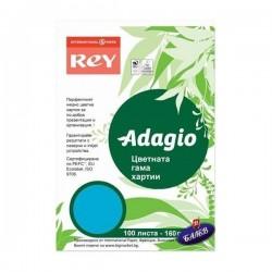 ADAGIO картон Deep Blue А4 100л.