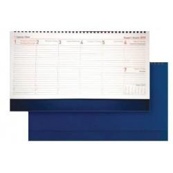 Настолен календар бележник 29x11 син