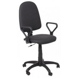Работен стол PRESTIGE GTP + подлакътници сив