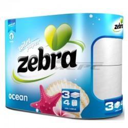 Тоалетна Хартия ZEBRA Ocean 4 броя