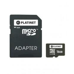 Micro SD карт за памет + адаптор PLATINET