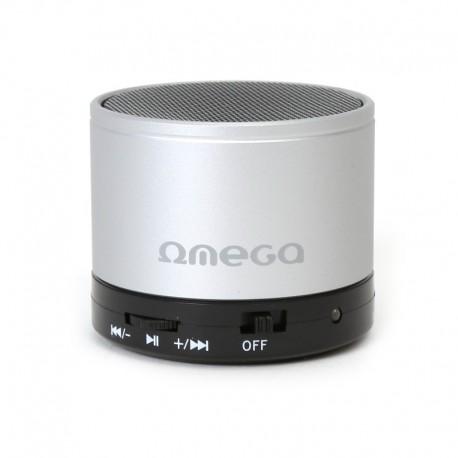Bluetooth тонколонка OMEGA- OG47 сребърна