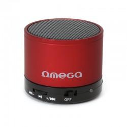 Bluetooth тонколонка OMEGA- OG47 червена