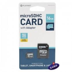 Micro SD памет PLATINET 16 GB
