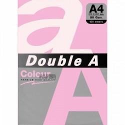 DOUBLE A хартия А4 100л Pink