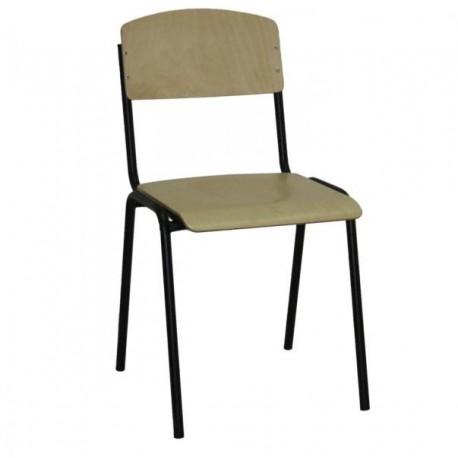 Стол дървен ученически Tine Black
