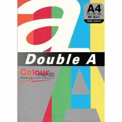 DOUBLE A хартия А4 5цв.х20бр. Rainbow5