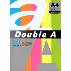 DOUBLE A хартия А4 5цв.х20бр. Rainbow4