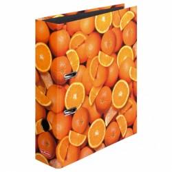 Herlitz класьор А4 портокал