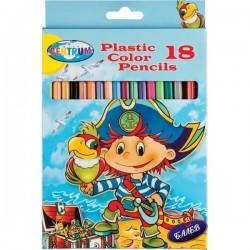 CENTRUM Моливи 18 дълги PIRATE 85399