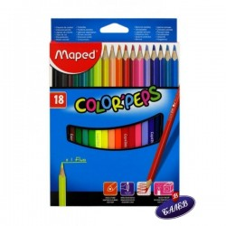 MAPED COLOR PEPS 18цв.