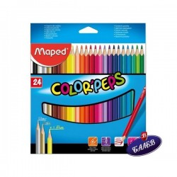MAPED COLOR PEPS 24цв.