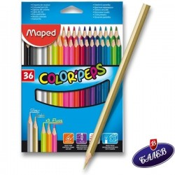 MAPED COLOR PEPS 36цв.