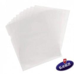 EXXO Папка джоб L прозрачна оп.10