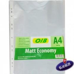 Папка джоб MATT ECONOMY A4