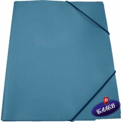 SW Папка PP с ластик синя