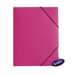 SW Папка PP с ластик розова