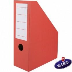 Вертикален бокс картон червен