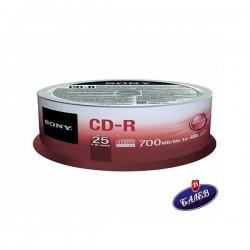 SONY CD-R 700MB Шпиндел 25бр.