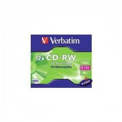 VERBATIM CD-RW 700MB 12x 1бр.