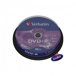VERBATIM DVD+R Шпиндел 10бр.