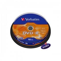VERBATIM DVD-R Шпиндел 10бр.