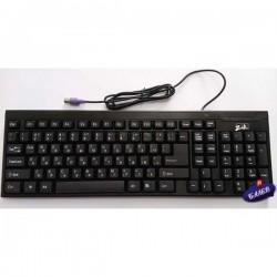 Клавиатура PS/2 черна JT710