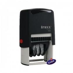 TRAXX Датник червен/син букви 7050
