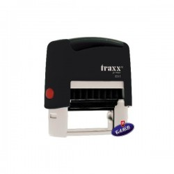 TRAXX Печат PR20 14/38мм черен 9011