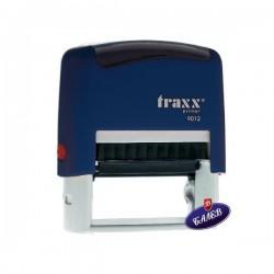 TRAXX Печат PR30 18/48мм син 9012