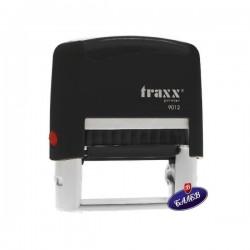 TRAXX Печат PR30 18/48мм черен 9012