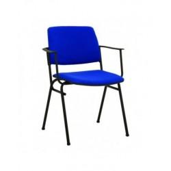 Посетителски стол ISIT ARM Blue
