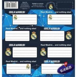 Real Madrid ученически етикети 8бр. RM-107