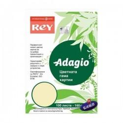 ADAGIO картон Canary Yellow А4 100л.