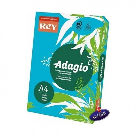 ADAGIO картон Deep Blue А4 250л.