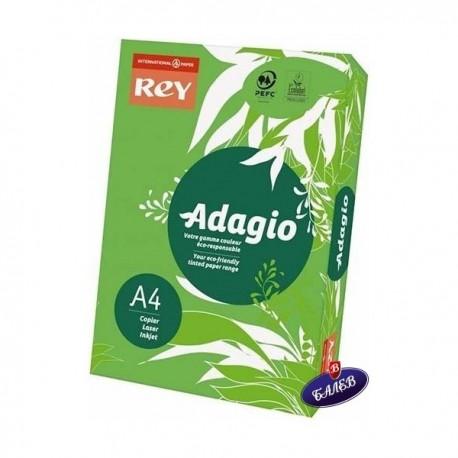 ADAGIO картон Deep Green А4 250л.