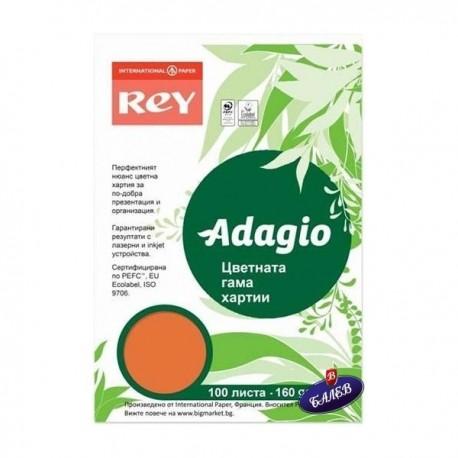 ADAGIO картон Orange А4 100л.